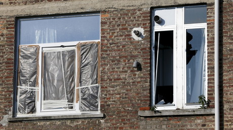 L'appartement de Forest où se cachaient certains djihadistes en mars 2016