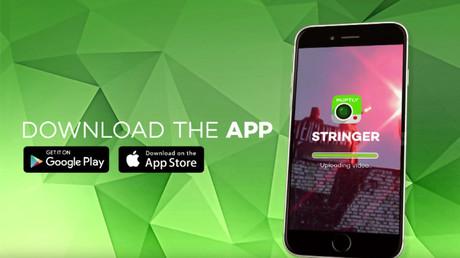 Téléchargez l'application Ruptly Stringer et devenez citoyens-journalistes !