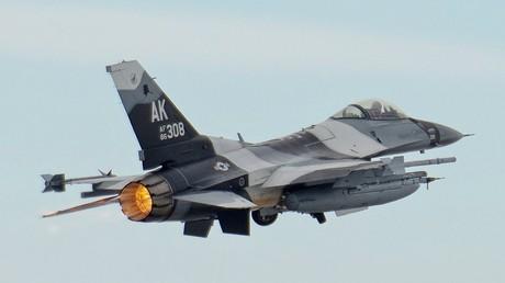 Un F-16 norvégien mitraille par erreur une tour de contrôle occupée
