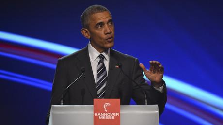Le président américain Barack Obama à Hanovre