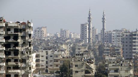 La ville de Homs le 18 janvier 2015