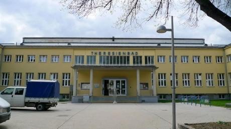 La piscine de Theresienbad à Vienne, où a eu lieu l'agression