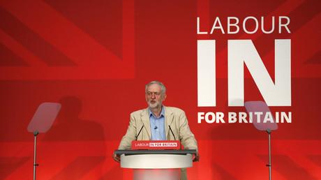 Jeremy Corbyn, leader du Parti Travailliste