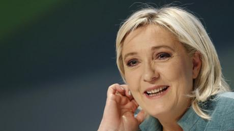 De quoi donner le sourire à la présidente du Front national ?