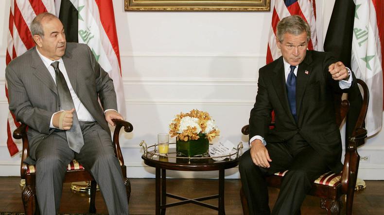 Ex ministre irakien de la d fense en 2004 le gouvernement for Ministre interieur depuis 2000