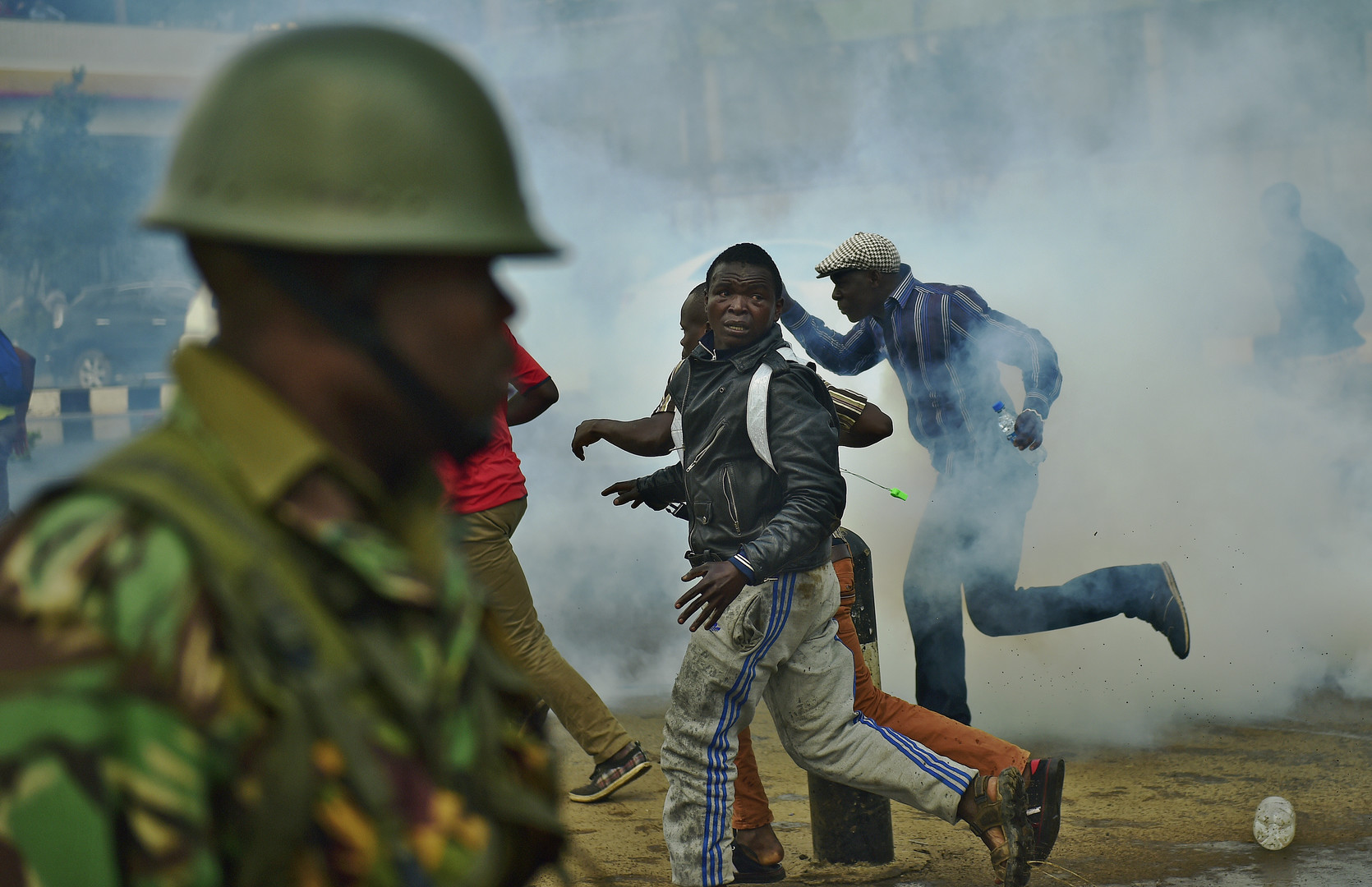 Kenya : la police réprime très violemment une manifestation de l'opposition (IMAGES CHOCS)