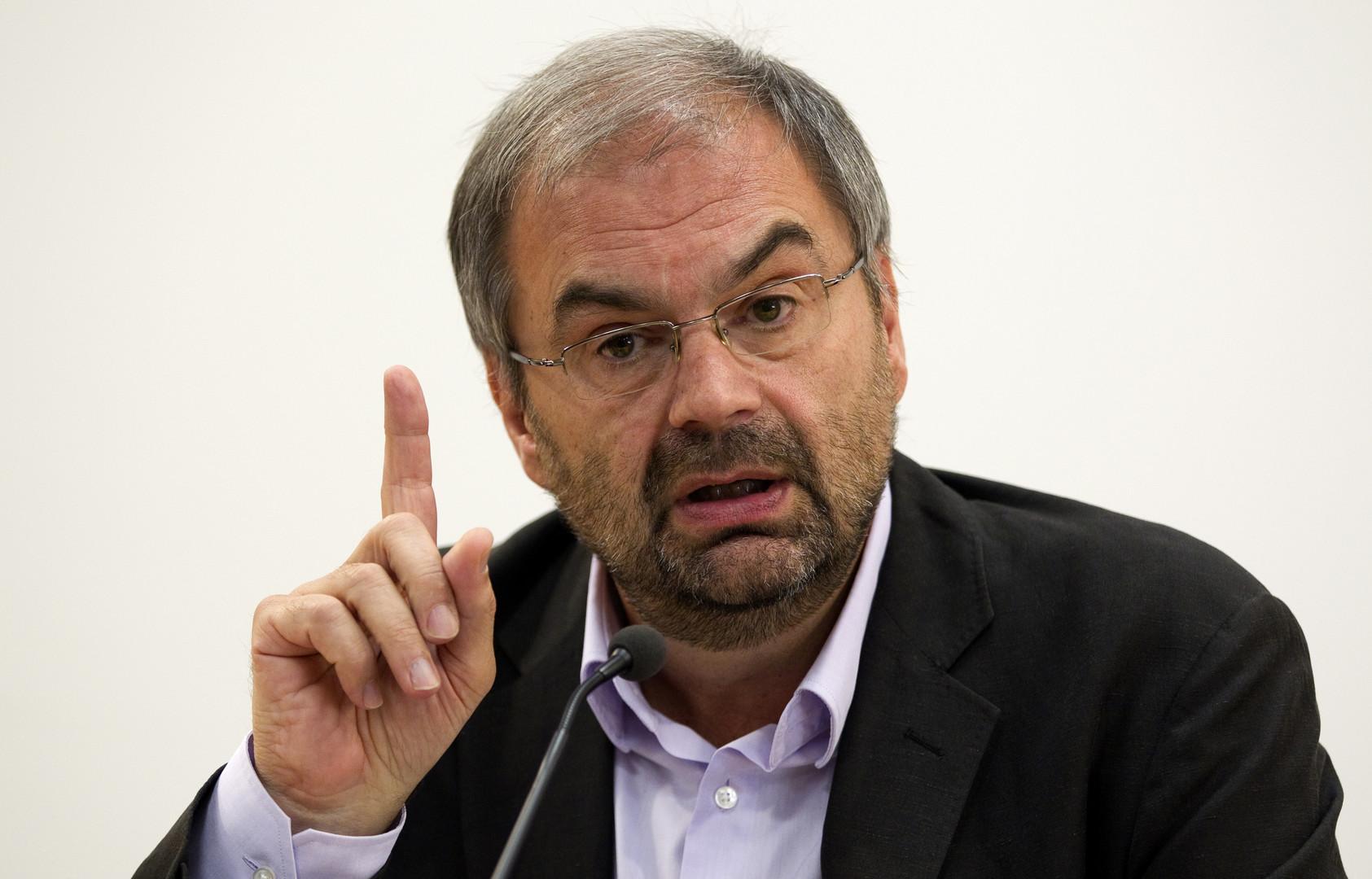 Le secrétaire général de la CFDT, François Chérèque
