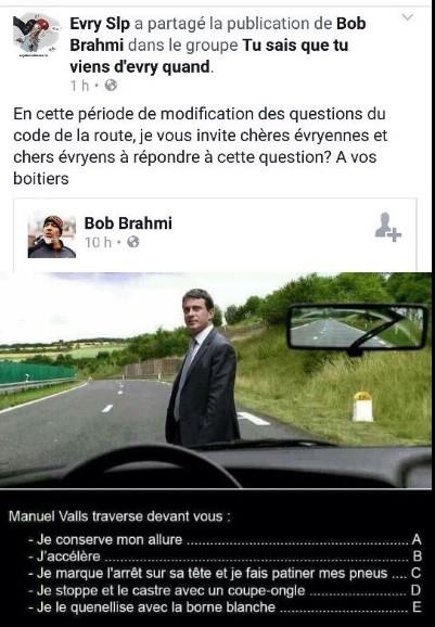 Un employé municipal d'Evry suspendu de ses fonctions pour avoir comparé Manuel Valls à Hitler
