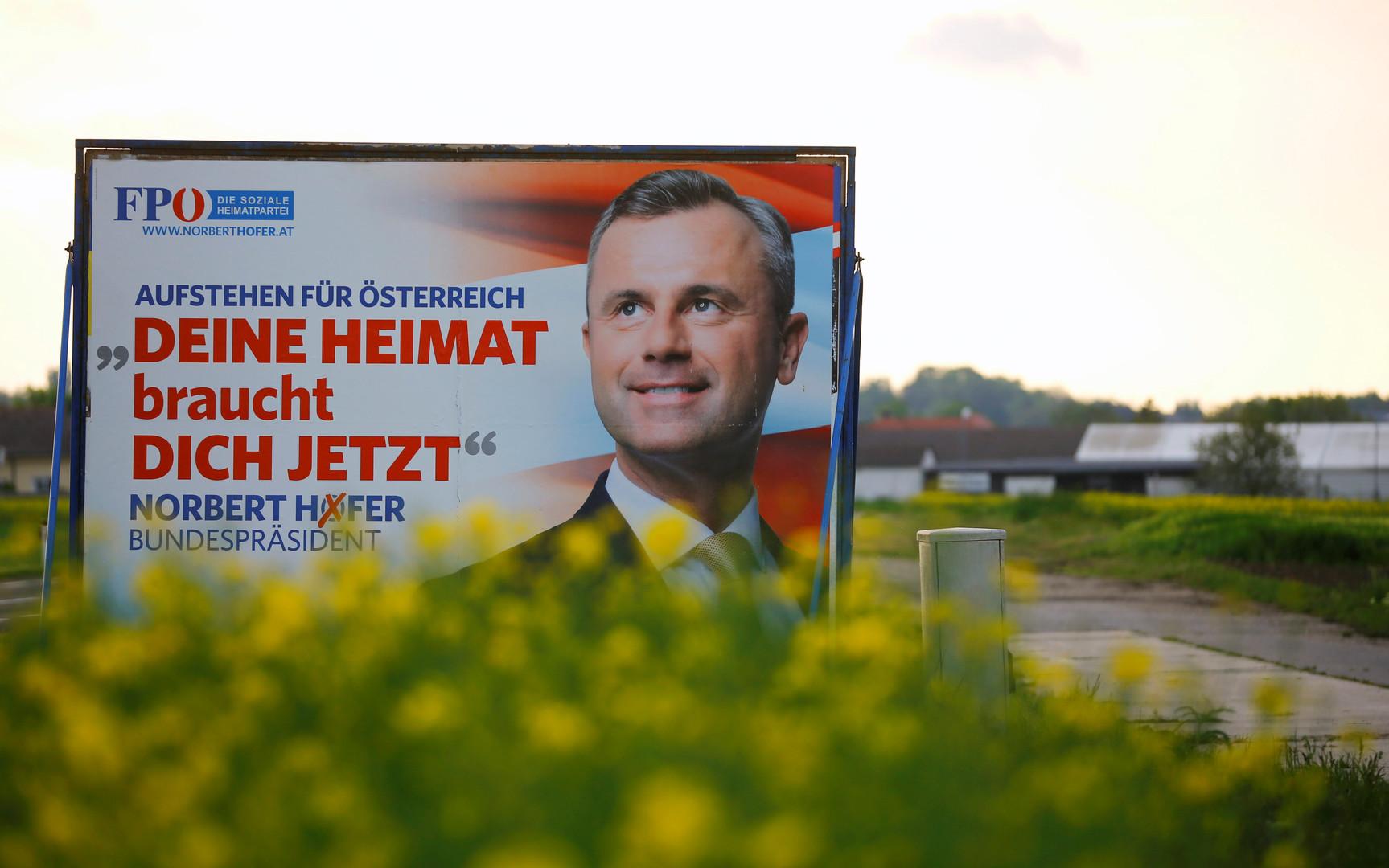 Autriche : l'extrême droite aux portes du pouvoir, selon les premières estimations