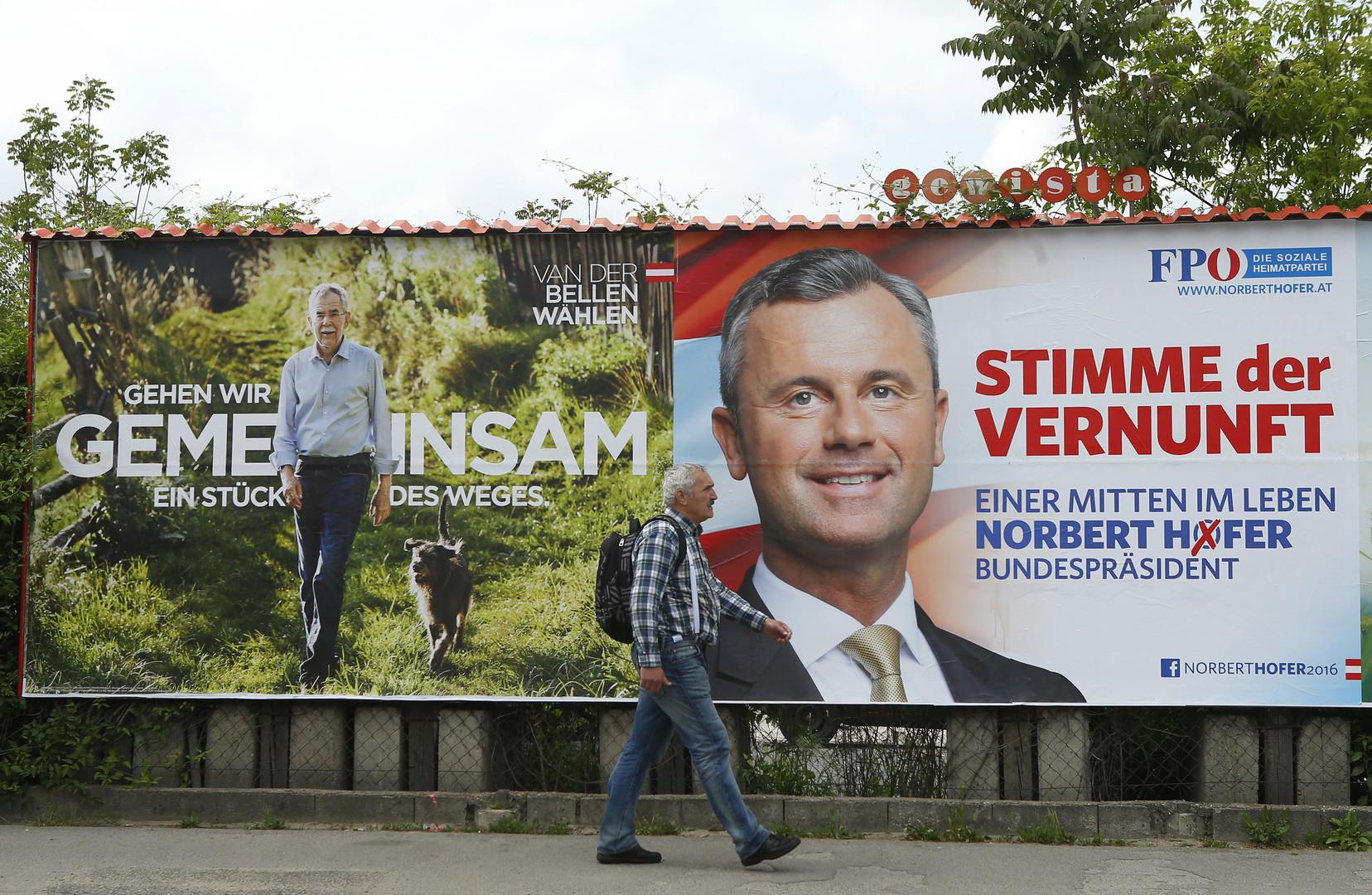 Election présidentielle autrichienne : le vote par correspondance révélera le nom du vainqueur
