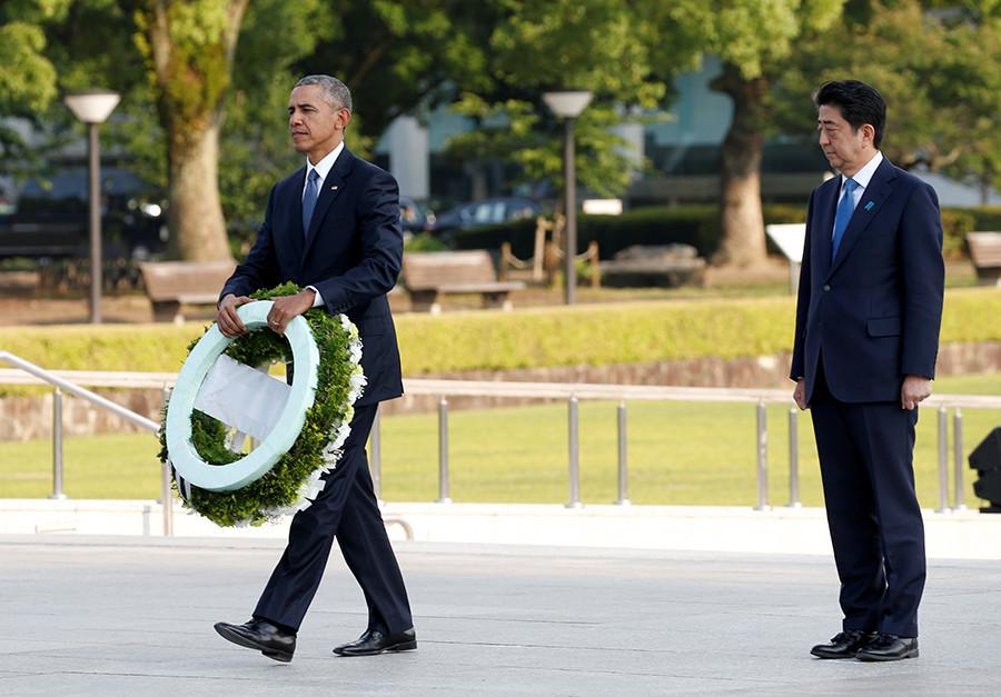 «Rendre hommage» mais pas d'excuses : la visite historique de Barack Obama à Hiroshima