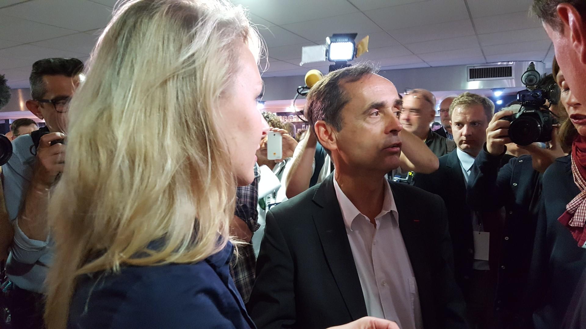 Robert Ménard et Marion Maréchal Le Pen ont été accueillis comme des stars