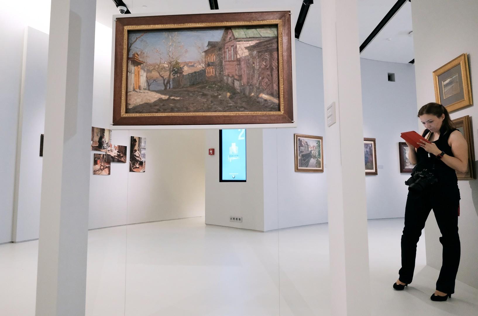 Le nouveau musée de l'impressionnisme russe a ouvert ses portes à Moscou