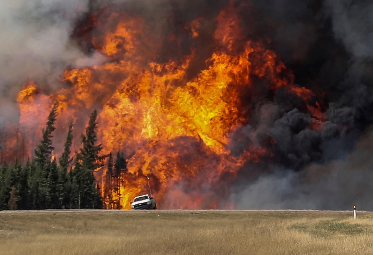 Incendies au Canada : Trudeau refuse l'aide de la Russie mais accepte celle de l'Afrique du Sud
