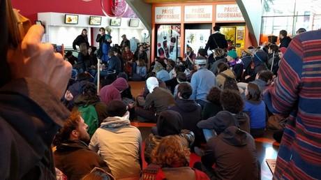 1er mai à Rennes : plusieurs centaines de jeunes envahissent un cinéma du centre-ville