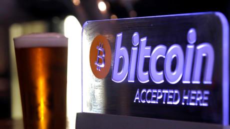 Un bar dans le centre de Sydney, en Australie, qui accepte les bitcoins, le 29 septembre 2015