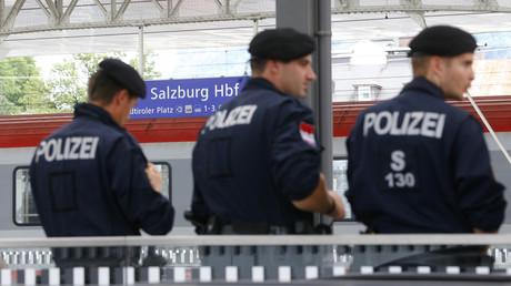 Policiers autrichiens
