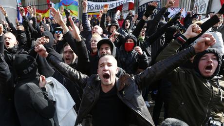 Débordements lors d'une manifestation d'extrême droite le 27 mars dernier à Bruxelles