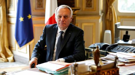 Le ministre des Affaires étrangères français Jean-Marc Ayrault
