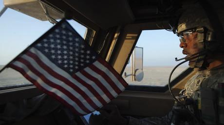 Soldat américain en Irak en 2011