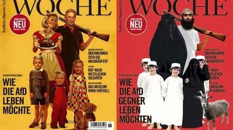 La guerre du cliché est déclarée entre un journal allemand et l'AfD