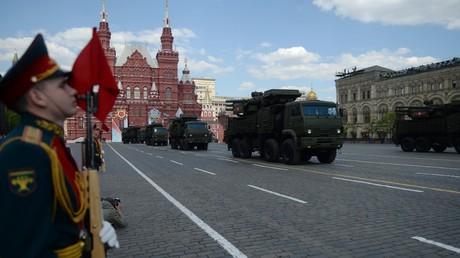 Répétition générale du défilé pour le Jour de la Victoire à Moscou (VIDEO PANORAMIQUE)