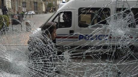 Manifestations contre la Loi Travail: situation très tendue hier et aujourd'hui à Rennes