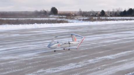 Faites connaissance avec Frigate, le nouveau drone russe au design futuriste (VIDEO)