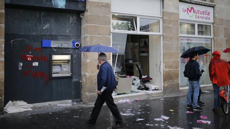 Suite aux violents débordements, Rennes et Nantes pourront interdire les manifestations