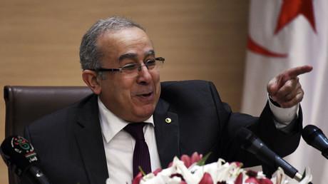 Ramtane Lamamra, ministre des Affaires Etrangères algérien