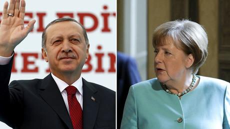 Le président turc Recep Tayyip Erdogan et la chancelière allemande Angela Merkel se rencontreront lundi