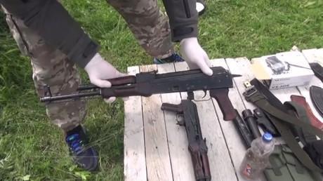 Сapture d'écran d'une vidéo de RT