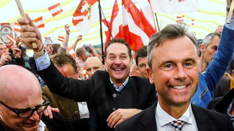 Norbert Hofer candidat du FPÖ