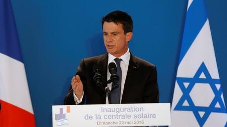 Le Premier ministre Manuel Valls en visite en Israël