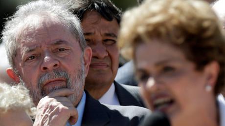 L'ex-président brésilien Luiz Inacio Lula da Silva