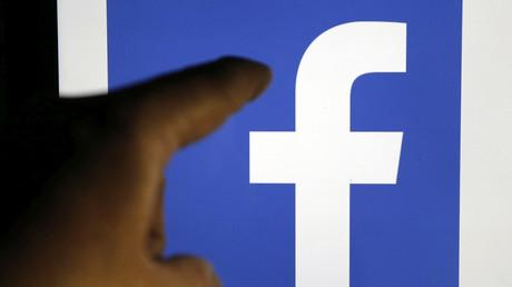 Le logo du réseau social Facebook
