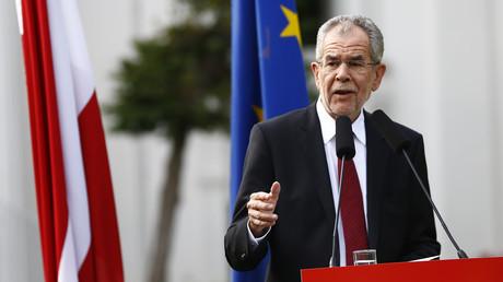 Le président autrichien élu, Alexander Van der Bellen