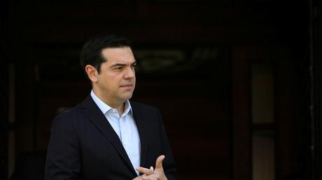 Le chef du gouvernement alexis Tsipras