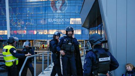 Exercice des policiers à Lyon
