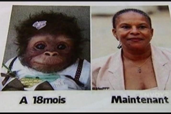 Peine de deux mois de prison ferme après un tweet raciste sur Christiane Taubira