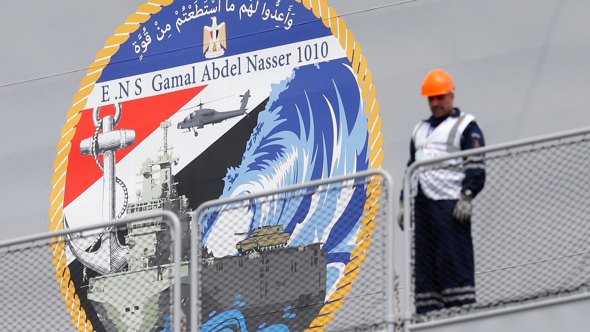 La France transmet le premier Mistral «ex-russe» à l'Egypte