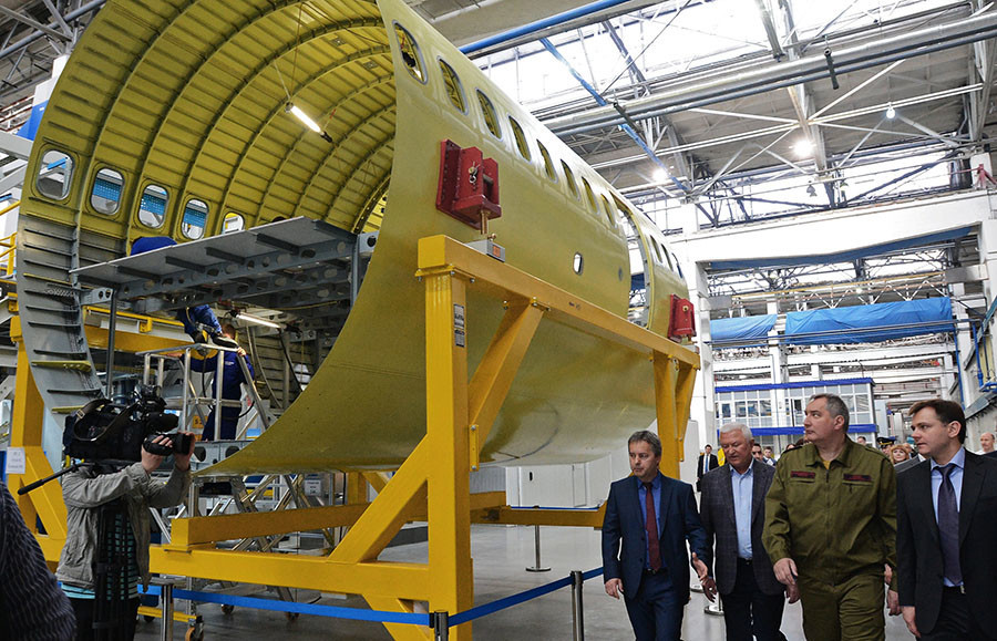 MC-21 : un avion russe de pointe défie Airbus 320 (PHOTOS, VIDEOS)