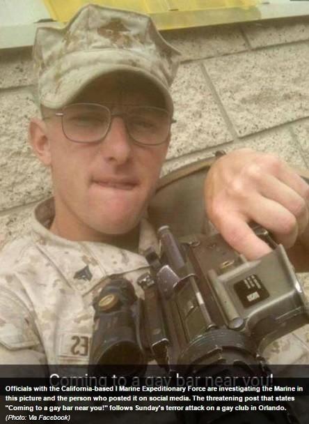 Des Marines américains soupçonnés d'avoir menacé d'autres bars gays, après la tuerie d'Orlando