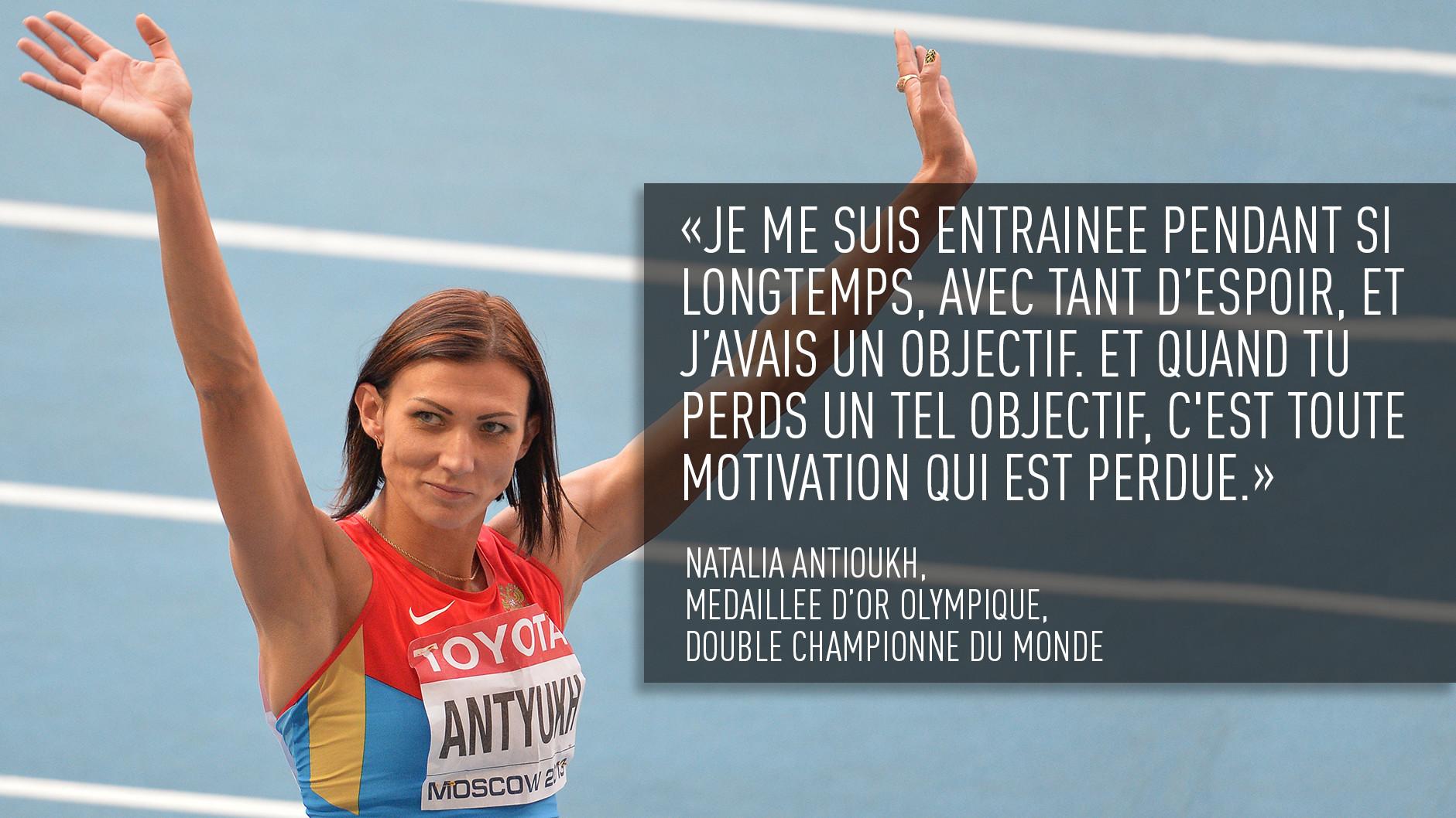 «Je gagnerai ma troisième médaille d'or sous le drapeau russe aux JO de Rio», Yelena Isinbayeva à RT