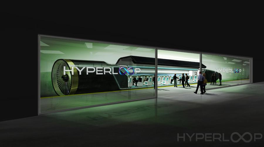 Un train ultra rapide Hyperloop à Moscou, la réalisation d'un rêve de science-fiction