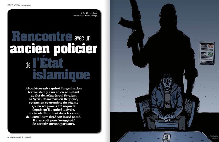 «La guerre ne fait que commencer», témoigne un ex-fonctionnaire de Daesh réfugié en Belgique
