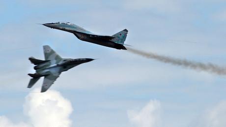 Avions de chasse russes MiG 29