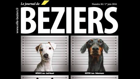 La Une du numéro de juin du Journal de Béziers