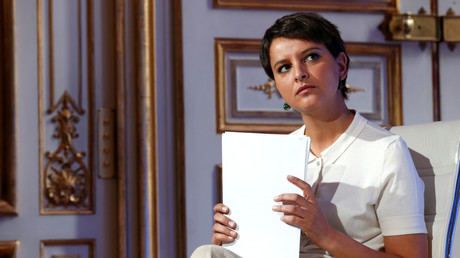 La ministre de l'Education nationale Najat Vallaud Belkacem