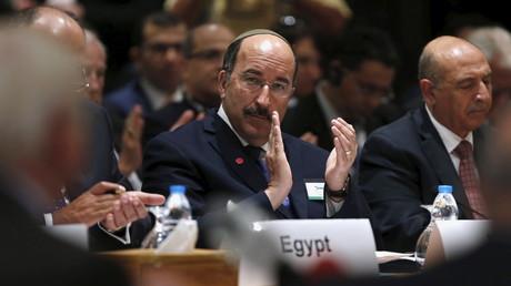 Le ministre des Affaires étrangères israéliens Dore Gold
